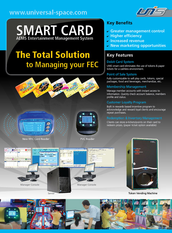 UNIS Smart Card Flyer