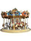 Ancient Carousel 16 Seats - Indoor-Outdoor Rides