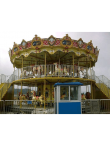 2 Level Carousel 60 Seats - Indoor-Outdoor Rides