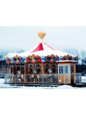 Ancient Carousel 24 Seats - Indoor Outdoor Rides