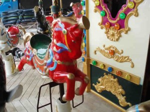 Ancient Carousel 24 Seats (Detail) - Indoor-Outdoor Rides