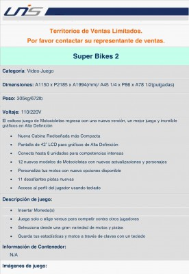 Super Bikes 2 PDF Profile