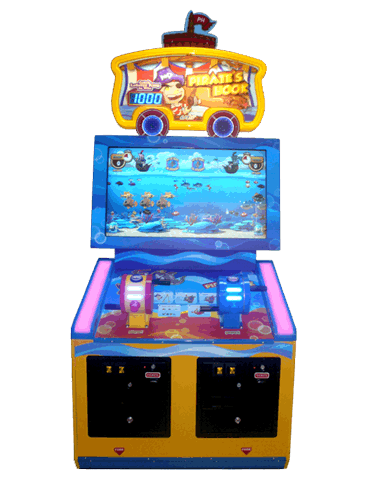 Pirate 39 s hook redemption games by unis universal space for Fish arcade game