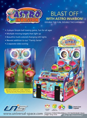 Astro Invasion Flyer