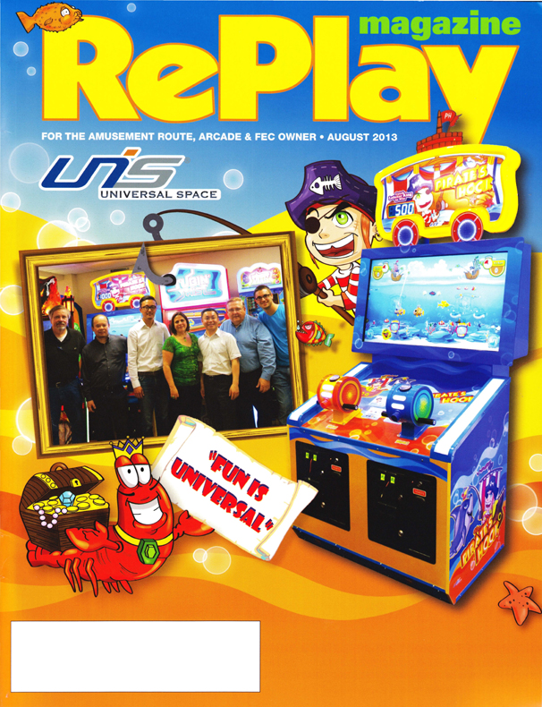 Replay - Cover Story - August