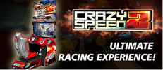 Crazy Speed UNIS Video-Game