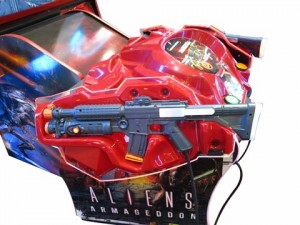 Aliens Armageddon-force feedback gun